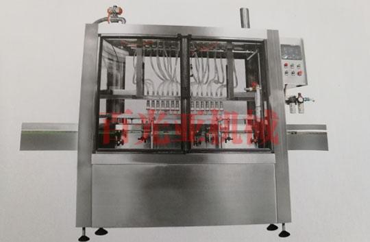 直线式液体定量灌装机