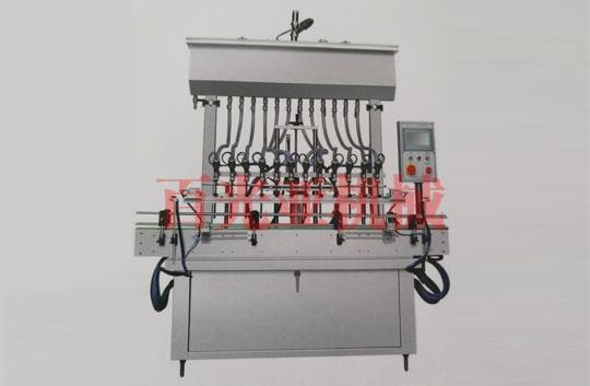 自流式直线灌装机